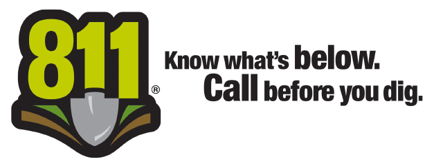 811 - Know what's below, call before you dig